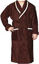 Махровый мужской халат для дома. Россия