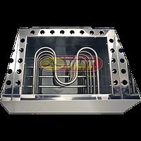 Электрокаменка ЭКМ-12 корпус нержавеющая сталь, фото 1