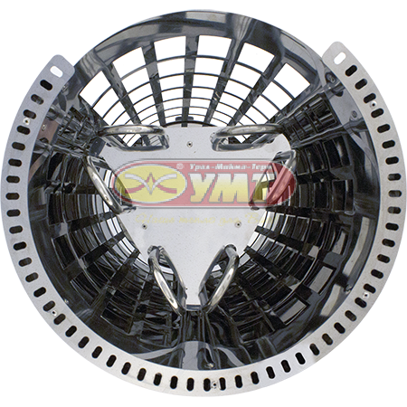 Электрокаменка «Сфера» ЭКМ-7    корпус из нержавеющей стали