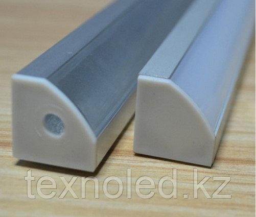 Алюминиевый профель для Led угловой