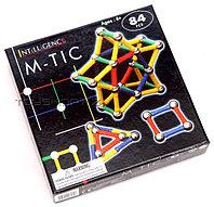 Магнитный конструктор 84 детали, фото 1