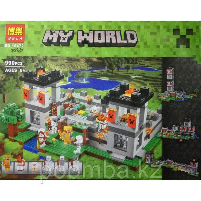 """Конструктор Bela Minecraft  """"Крепость"""", 990 дет."""