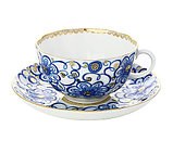 Чашка с блюдцем Вьюнок. ИФЗ, г.Санкт-Петербург, фото 2