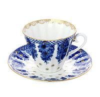 Чашка с блюдцем Корзиночка. Императорский фарфор