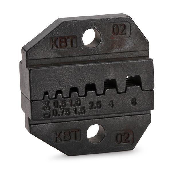 Номерные матрицы для опрессовки двойных изолированных втулочных наконечников МПК-02 ™КВТ