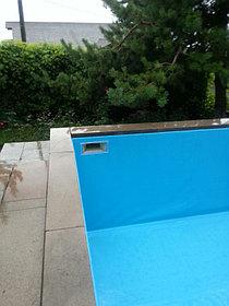Наши работы по облицовке  бетонных и металлических чаш бассейнов ПВХ лайнером 5