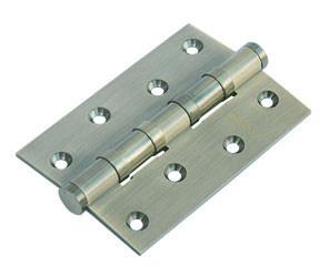Дверная петля латунная универсальная с 4 подшипниками Morelli MBU 100X70X3-4BB AB (цвет: бронза)