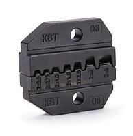 Номерные матрицы для опрессовки двойных изолированных втулочных наконечников МПК-06 ™КВТ