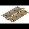 Дверная петля латунная универсальная с 4 подшипниками Morelli MBU 100X70X3-4BB COF (цвет: кофе)