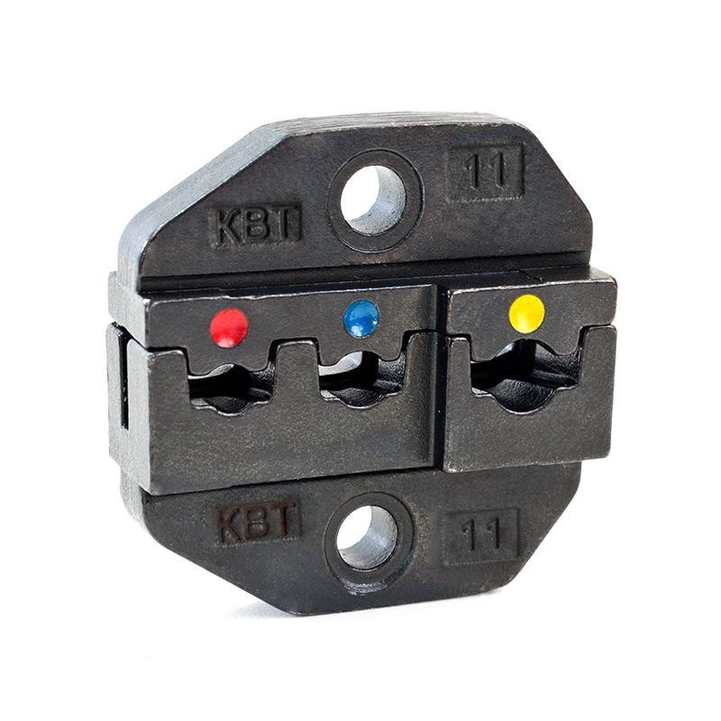 Номерные матрицы для опрессовки изолированных разъемов сечением 0.5-6 мм МПК-11 ™КВТ