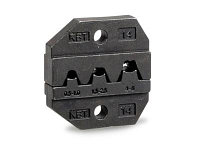 Номерные матрицы для опрессовки автоклемм под двойной обжим МПК-14 ™КВТ