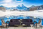 Фотообои Озеро на фоне Альпийских гор, фото 2