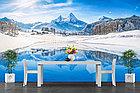 Фотообои Озеро на фоне Альпийских гор, фото 3