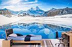 Фотообои Озеро на фоне Альпийских гор, фото 5