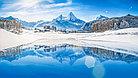 Фотообои Озеро на фоне Альпийских гор, фото 6