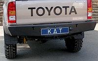Задний силовой бампер KDT Light Toyota Hilux