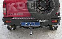 Задний силовой бампер KDT Nissan NP300