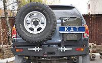 Задний силовой бампер KDT Mitsubishi L200, фото 1