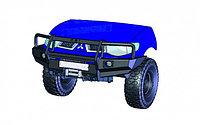 Силовой бампер КДТ для Mitsubishi L200, со съемным кенгурином., фото 1