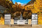Фотообои Французские Альпы, водопад, фото 4
