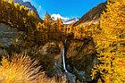 Фотообои Французские Альпы, водопад, фото 6