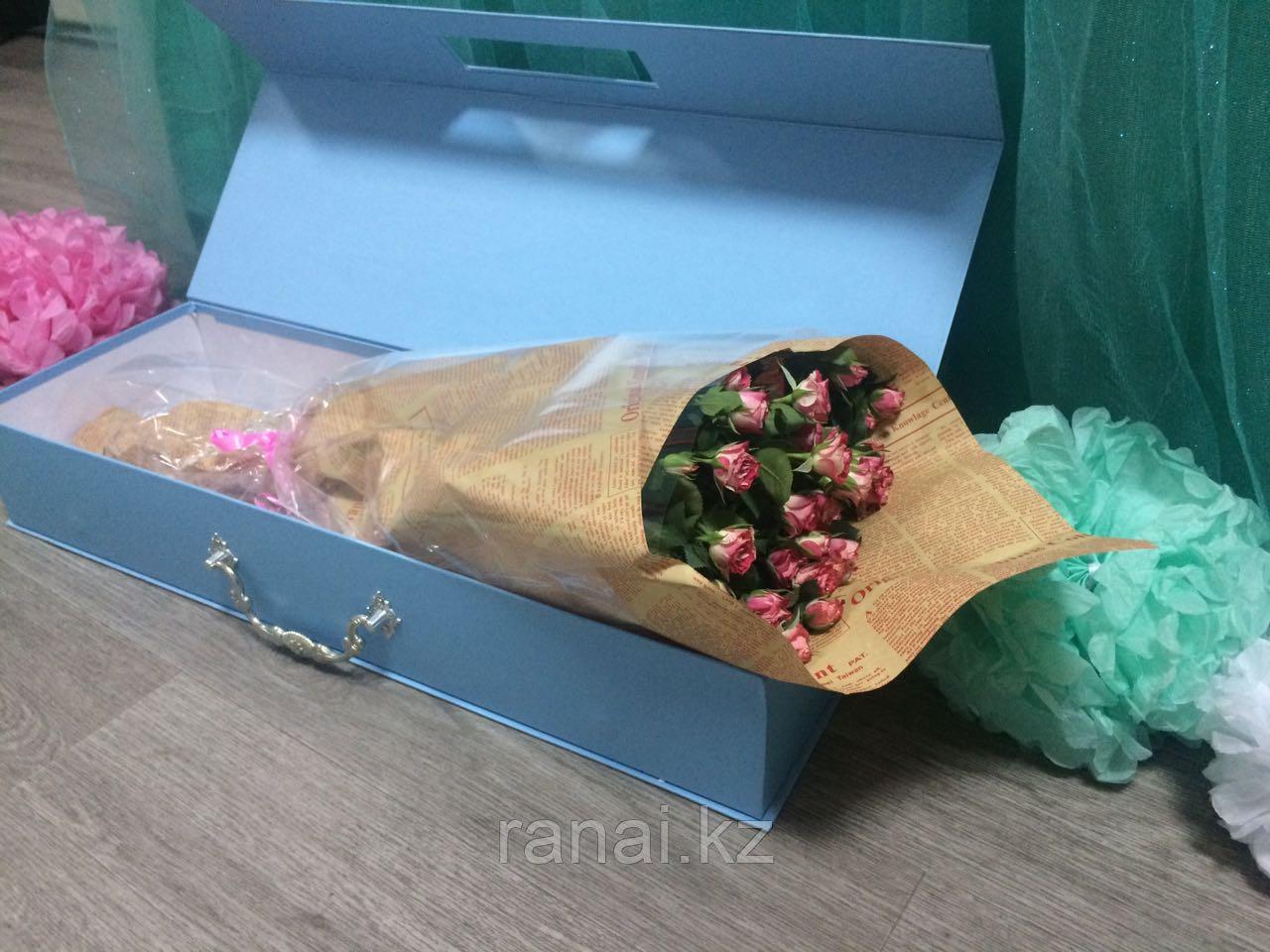 Коробка для цветов алматы