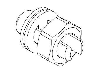 Заземляющая шпилька М10 (комплект)