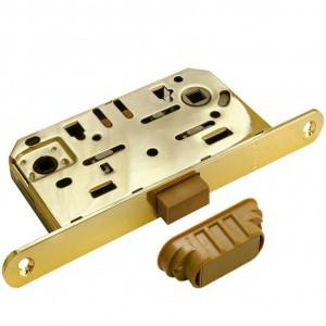 Дверной замок под магнитный цилиндр Morelli M1885 PG (цвет: золото)