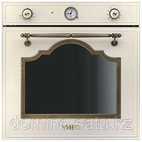 Духовой шкаф Smeg SF750POL кремовая с кристалами SWAROVSKI