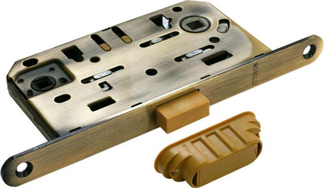 Защелка сантехническая магнитная Morelli M1895 AB (цвет: бронза)