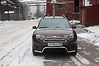 Renault Duster 2012- Защита передняя волна D 50,8
