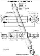 ЦГ-100х63х1000.11Гидроцилиндр стрелы на ЕК-12