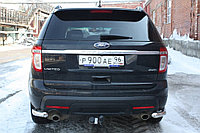 Ford Explorer 2011- Защита задняя уголки D 60,3, фото 1