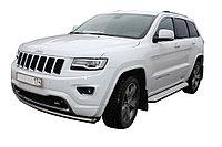Jeep Grand Cherokee 2013- Пороги с площадкой D 60,3, фото 1