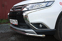 Mitsubishi Outlander 2015- Защита передняя D 60,3, фото 1