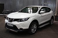 Nissan Qashqai 2015- Защита передняя D 60,3 (сборка СПБ), фото 1