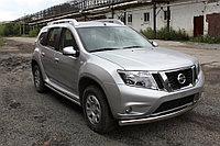 Nissan Terrano 2014- Защита передняя (ОВАЛ) D 75х42, фото 1