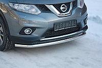 Nissan X-Trail 2015- Защита передняя большая D 60,3, фото 1