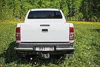 Toyota Hilux 2012- Защита задняя уголки одинарные D 76,1