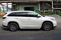 Toyota Highlander 2014- Пороги с площадкой D 60,3, фото 1
