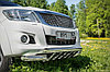 Toyota Hilux 2012- Передняя дуга с защитой D 76,1/76,1