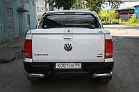 Volkswagen  Amarok Защита задняя уголки одинарные D 76,1 , фото 1