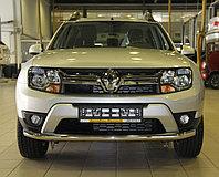 Защита переднего бампера Renault Duster 2015- D60.3, фото 1