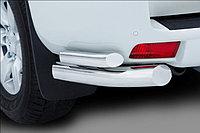 Защита заднего бампера Toyota Land Cruiser Prado 150 2014- уголки двойные D 76,1/50,8, фото 1