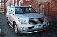 Защита переднего бампера Toyota LC 200, 2012-2015, 2015- D 76.1, фото 1