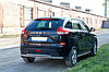 Защита заднего бампера двойная Lada Xray D50.8