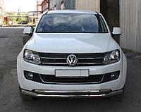 Защита переднего бампера Volkswagen Amarok двойная D 76,1x50,8, фото 1