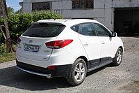 Защита заднего бампера Hyundai ix35 2010-2015, D60.3, фото 1