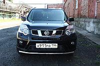 Защита переднего бампера Nissan X-Trail 2011-2014 D 60.3, фото 1