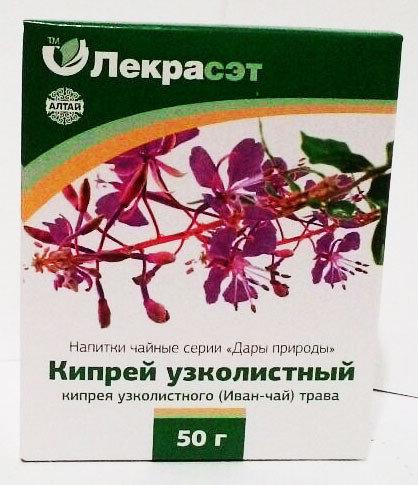 Кипрей узколистный (иван-чай), трава, 50 г